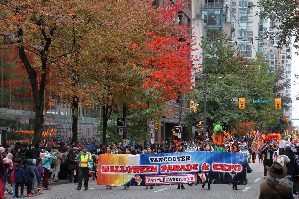 2019 Vancouver Halloween Parade 1