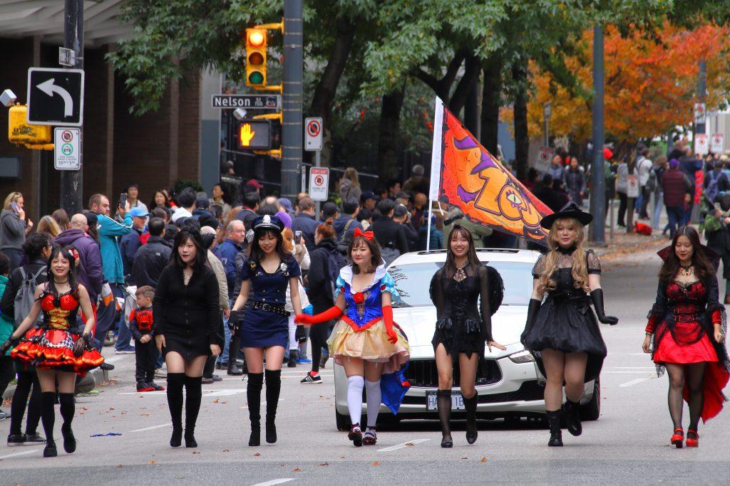 2019 Vancouver Halloween Parade 10