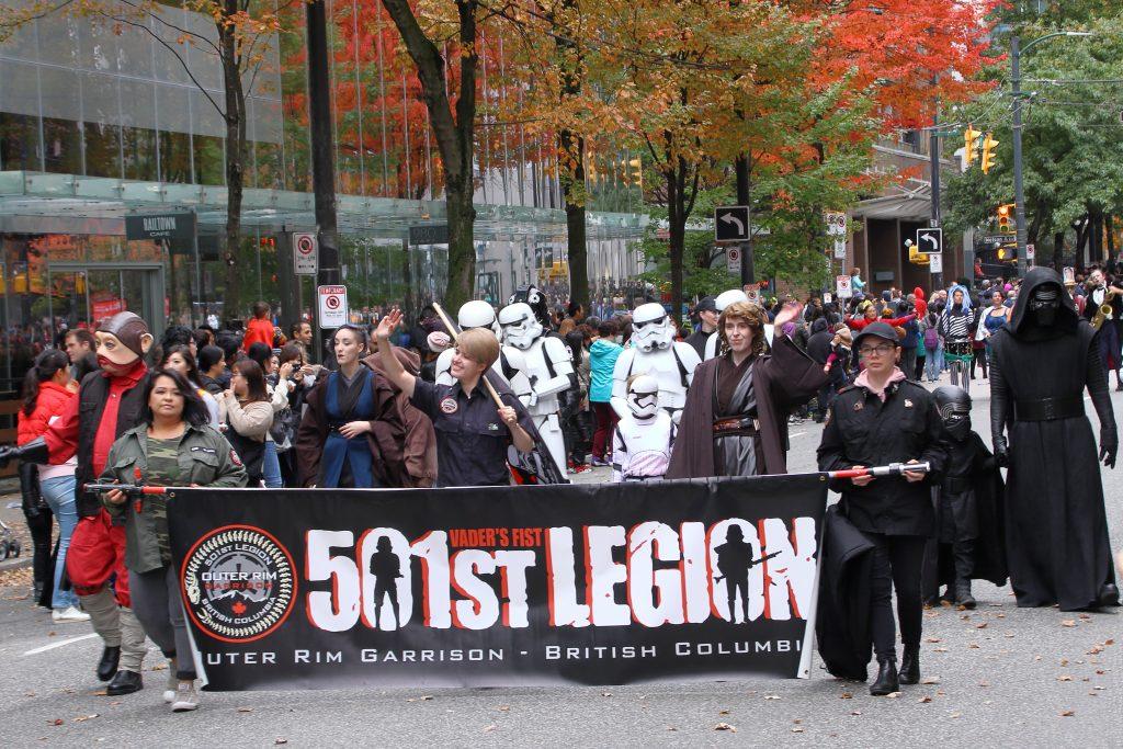 2019 Vancouver Halloween Parade 13