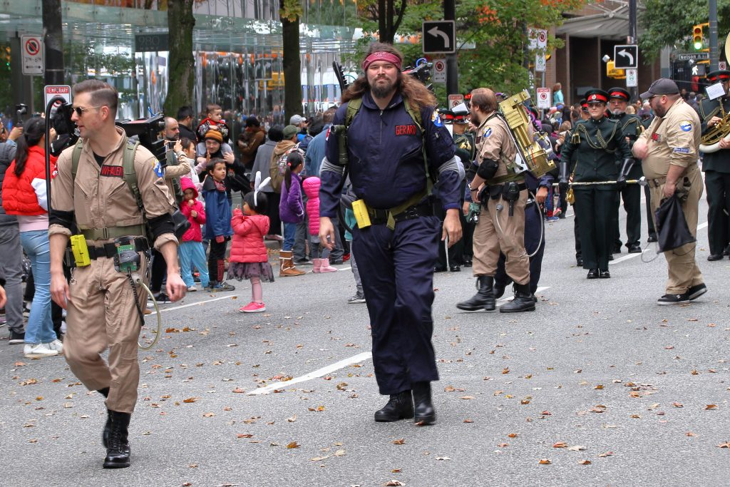 2019 Vancouver Halloween Parade 16