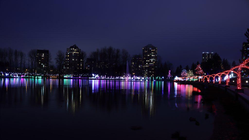 Lights at Lafarge Lake - Coquitlam 2