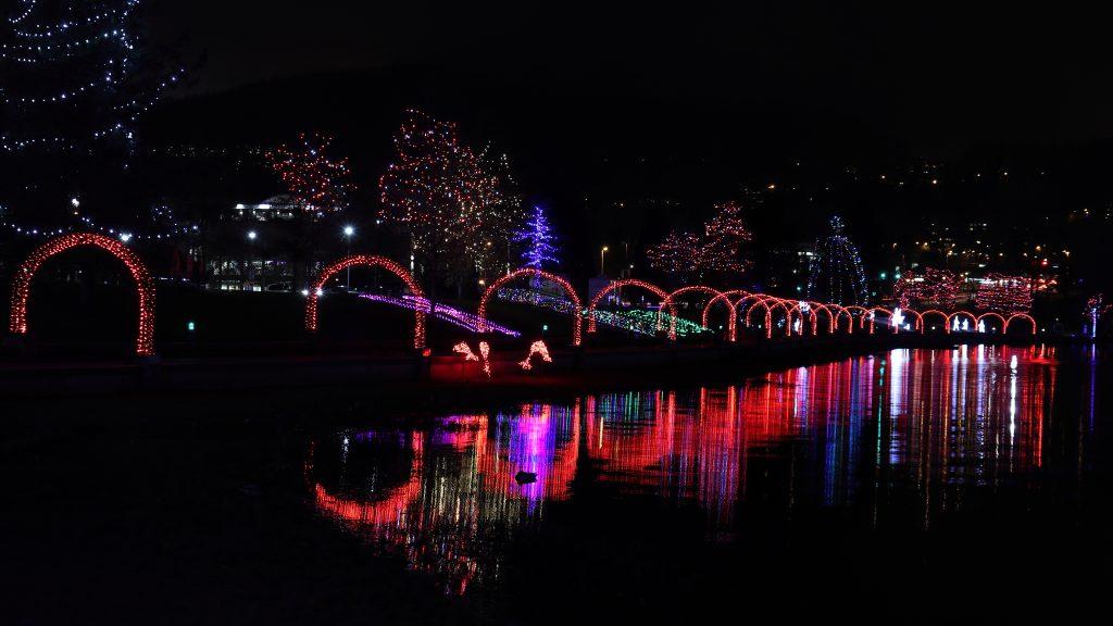 Lights at Lafarge Lake - Coquitlam 7