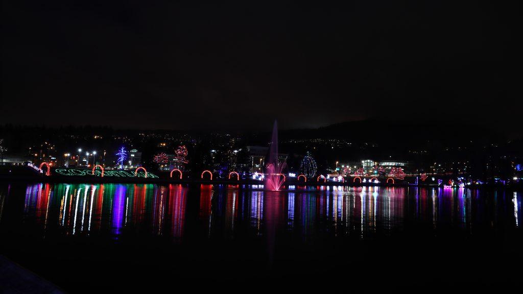 Lights at Lafarge Lake - Coquitlam 8