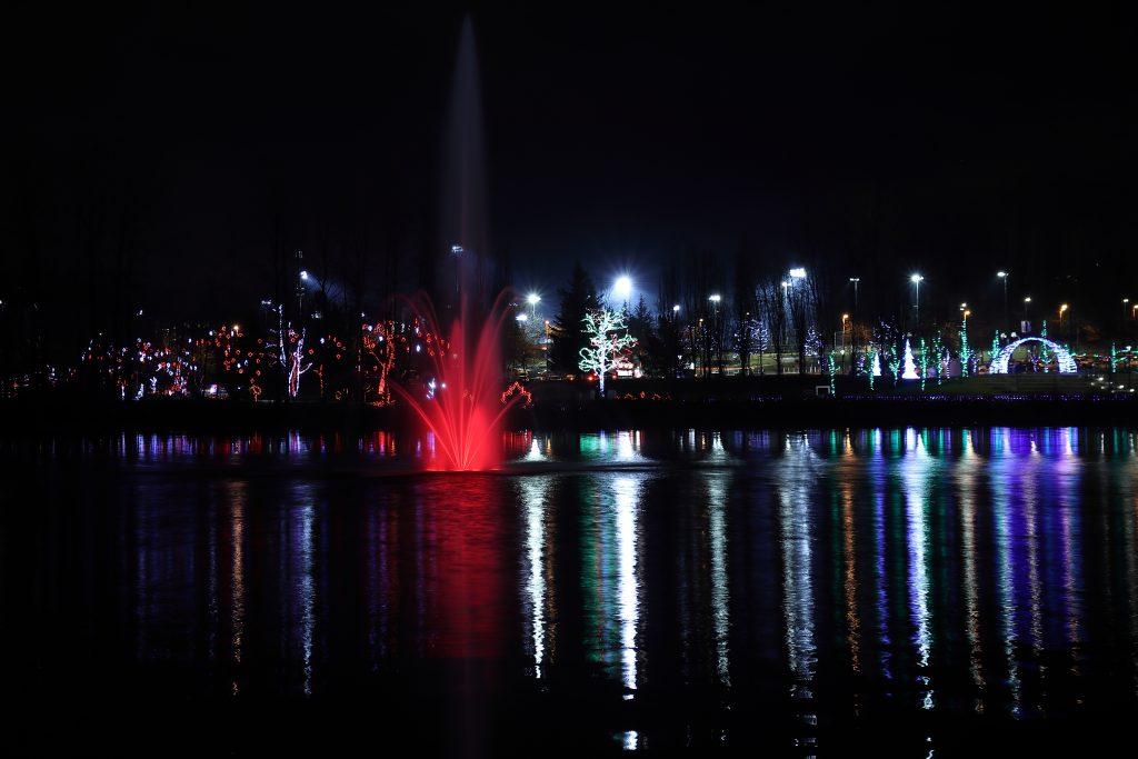 Lights at Lafarge Lake - Coquitlam 10