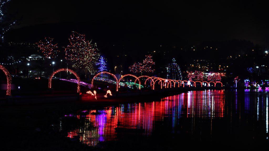 Lights at Lafarge Lake - Coquitlam 3