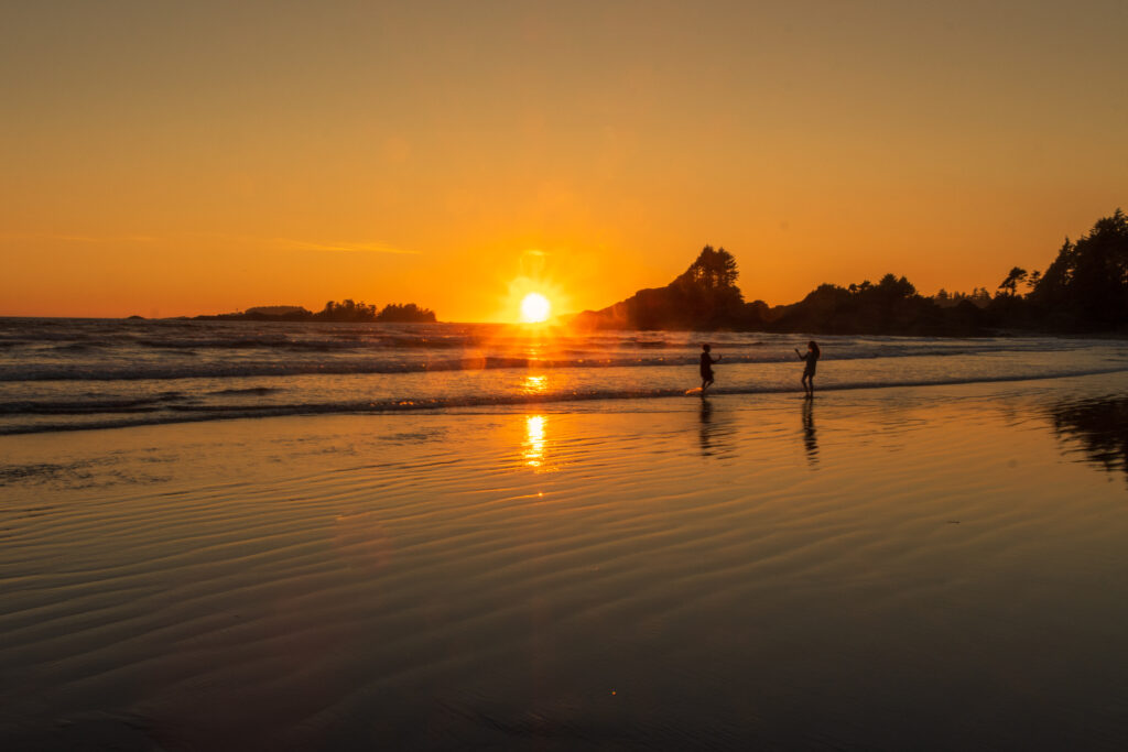 Sunset in Tofino 2