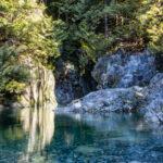 Lynn Canyon - 30 foot pool and twin falls 3